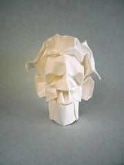 Fulano (So-and-so) (Rui.Roda) Tags: origami papiroflexia papierfalten mask masque mascara fulano soandso