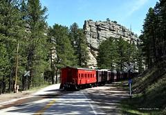 Black Hills Class (GRNDMND) Tags: trains railroads blackhillscentral 1880train blackhills droverswaycar hilyo keystone southdakota