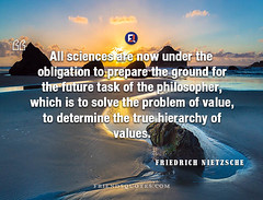 Friedrich Nietzsche Quote penny saved penny (Friends Quotes) Tags: all determine friedrichnietzsche future german ground hierarchy nietzsche obligation philosopher popularauthor prepare problem sciences solve task true value values which