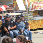 #IndianaStatePolice keeping fairgoers safe while packed in. thumbnail