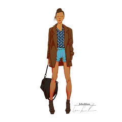 fashion_3 (jobsclebson) Tags: fashion model outfit sketch clothing clothes