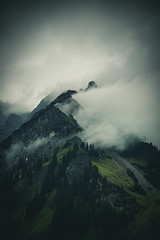 Moody Mountain (raimundl79) Tags: wow weather wolke wanderlust wald explore exploreme entdecken explorer earth erde 7dwf 2470mm tamron2470mm fotographie flickrexploreme flickrr foto digital d800 sky image instagram österreich photographie perspective panorama austria alpen arlberg lightroom landschaft landscape ländle myexplorer mountain nikon new nikond800 nebel fog bestpicture beautifullandscapes berge vorarlberg view