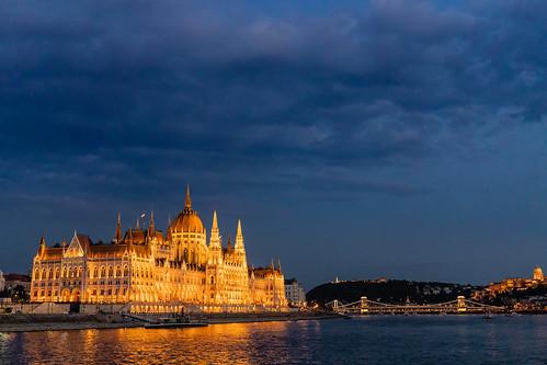 Boedapest  Hongaars parlementsgebouw