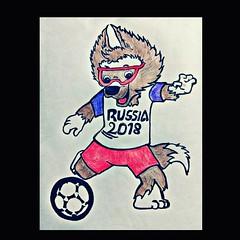 #Hello, everybody! #It's football fever  #FIFA world Cup2018* #thankyou  All!*  ✏ (laxmideep) Tags: hello thankyou fifa it