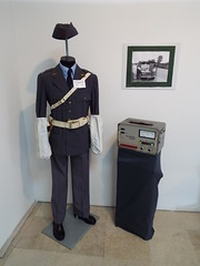 Police & Military Museum Belgrade Serbia (sean and nina) Tags: police policija polizei policia cops law enforcement museumimages exhibit display artefacts weapons uniforms equipment belgrade geograd srbija serbia balkans balkan europe european indoor inside june 2018 summer old antique militia military fire crew service rescue special forces communications badges cars vehicles paramilitary force history historical story tourist tourism