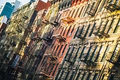 With A Story About the Way It Should Be (Thomas Hawk) Tags: manhattan nyc newyork newyorkcity usa unitedstates unitedstatesofamerica architecture fireescape fav10 fav25 fav50 fav100