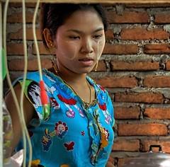 Zinkyaik Mon State Burma 12th January 2018 (loose_grip_99) Tags: burma myanmar girl restaurant people january 2018 asia