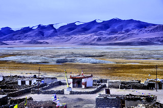 The Nomadic Village at Tso Kar