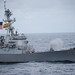 USS Dewey (DDG 105) conducts a live-fire exercise.
