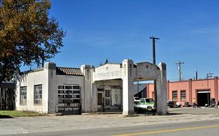 Abandoned Standard Oil Gas Station - Walsenburg,Colorado