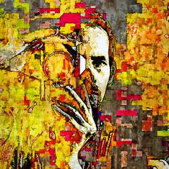 portrait of a man with camera (j.p.yef) Tags: peterfey jpyef yef people portrait man camera square digitalart photomanipulation bestportraitsaoi