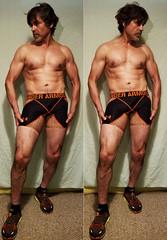 Age 49 (Wooohooohooo Rudy May Becerra) Tags: 49 man age49 underarmor compression running shorts skechers runner