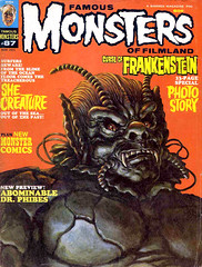 Famous Monsters #87 (1971), The She Creature cover by Ron Cobb (gameraboy) Tags: vintage famousmonsters 87 1971 theshecreature cover roncobb 1970s art illustration