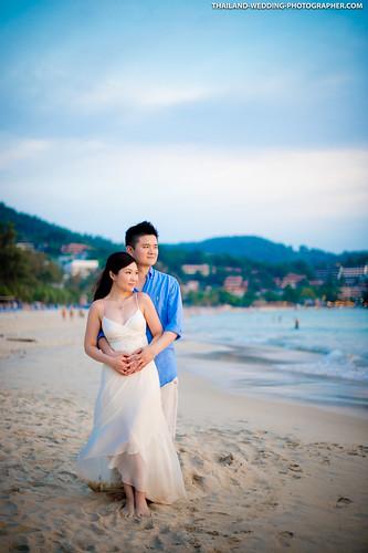 Kata Beach Phuket Thailand Wedding Photography