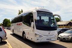 Peakes Coaches, Pontypool - YN64 AGX (peco59) Tags: yn64agx scania k400eb4 k400 irizar i6 peakespontypool peakescoaches psv pcv coach