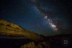 Mesa Arch-Milky Way- #423 (DBruner240) Tags: mesa arch milky way night time ut utah sky meteor