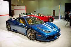 Ferrari 458 Speciale (amm6587) Tags: miami miamiautoshow miamiinternationalautoshow autoshow car auto show nikon florida miamibeach ferrari ferrari458 458 speciale 458speciale v8