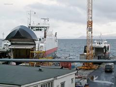 """""""Malangen"""" og """"Vengsøy"""" (OlafHorsevik) Tags: ferge ferga ferje ferja ferry"""