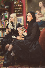 Witches (gloomth) Tags: gloomth witch 1990s 90s goth gothic 90sgoth occult witchgirl gothwitch altmodel azurarose em