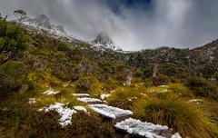 """If... (jenni 101) Tags: godsowncountry cradlemountain mountains tasmania worldheritage landscape nikond7200 photographybyjen snow wildnerness"