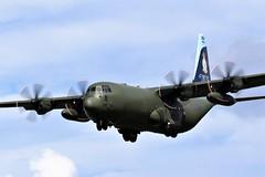 ZH866 RAF C-130J HERCULES NEWCASTLE (toowoomba surfer) Tags: raf aviation aircraft aeroplane ncl