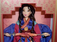 Limited Edition Mulan 20th Anniversary Doll - 16'' - Disney Store Release - My Mulan Doll - Midrange Front View (drj1828) Tags: mulan 20thanniversary limitededition 16inch doll collectible disneystore 2018 us release instore