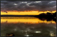 August Sunset 1a 2018 (itsallgoodamanda) Tags: amandarainphotography australia australianlandscape australiassouthcoast winter2018 shoalhaven seascape sea southcoast seaside sunset seascapephotography sky sanctuarypoint sunsetphotography jervisbayphotography jervisbay beautifulsunset silhouettetrees ocean landscape landscapecoast newsouthwales colourfullandscape colourfulsunset skyreflections clouds cloudreflections stgeorgesbasin sunrays boat calmocean calmwater itsallgoodamanda photography photoborder peaceful prettysunset coastallandscape coastal coastline coast paradisebeach australianphotography oceansunset