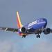 Southwest Airlines Boeing 737, dual-saber winglets, landing at Norman Mineta San Jose International Airport DSC_0802