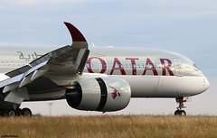 Qatar Airways Airbus A350-941 A7-ALB / CDG (RuWe71) Tags: qatarairways qrqtr qatari qatar doha airbus airbusa350 a350 a359 a350xwb a350900 a350900xwb a350941 a350941xwb airbusa350xwb airbusa350900 airbusa350941 a7alb msn007 fwzfb fwzgb parisroissy roissycharlesdegaulle parischarlesdegaulle parischarlesdegaulleairport aéroportsdeparis cdg lfpg twinjet widebody runway winglets thrustreverse flaps slats spoilers