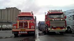 Danmark Trucks - Michael Nielsen Ronnie Petersen and (engels_frank) Tags: scania 141 michael nielsen 142h ronnie petersen