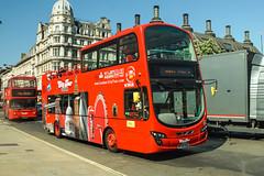 London City Tour, Stanwell - BF60 UUG (peco59) Tags: bf60uug vn37897 volvo b9 b9tl wright gemini wrightbus eclipse bus opentopbus psv pcv londoncitytour vw1849 centrewest