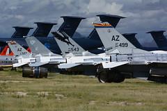 Tails @ Davis Monthan (MarkP51) Tags: tails davismonthanafb tucson arizona usa 309amarg amarg boneyard military aircraft airplane plane image markp51 nikon d7100 aviationphotography