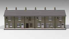 row #2 (IMP_bricks) Tags: lego terracehouses huwmillington english england uk moc studio