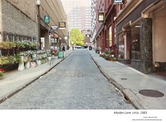 Maiden Lane  circa  1983 (albany group archive) Tags: 1980s old albany ny vintage photos picture photo photograph history historic historical flower market