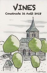 Carte souvenir de la cousinade 2018 à Vines (J-M.I) Tags: