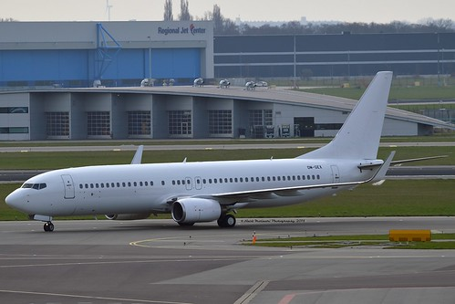 AirExplore OM-GEX Boeing 737-8AS Winglets cn/29919-341 @ EHAM / AMS 08-04-2018
