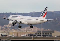 F-GKXZ, Air France, Airbus A320-214, cn 4137 (Lars-Rollberg.com) Tags: airfrance airbusa320214 bcn barcelonaelpratairport fgkxz lebl spain cn4137