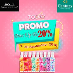 Promo Parfum So...? Apotek Century Disc 20% (ikhsankurniawan38) Tags: perfume promo diskon parfumwanita parfumoriginal fragrance indonesia