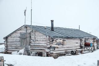 Trapperhütte - Trapper hut