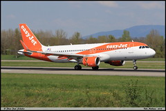 AIRBUS A320 214 EASYJET OE-IZH 6892 Bale Mulhouse avril 2018 (paulschaller67) Tags: airbus a320 214 easyjet oeizh 6892 bale mulhouse avril 2018