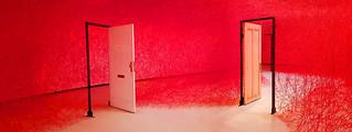 - Chiharu Shiota Installation -