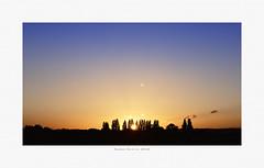 Summer Solstice Sunrise 2018 [Explored] (Myrialejean) Tags: solstice summersolstice sky sun sol blue yellow dawn daybreak sunrise sunshine seasons breathtakinglandscapes tree