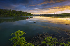 Across the Menai Straits (John Joslin) Tags: menai straits anglesey wales water river britannia bridge sony spring sunset dramatic reflections boats a7rii beautiful clouds color daylight dusk evening idylic sky landscape loxia2821 light loxia nature natural outdoors outside reflection trees uk zeiss