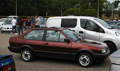 1991 Volkswagen Polo Classic 1.3 CL (rvandermaar) Tags: 1991 volkswagen polo classic 13 cl vw volkswagenpolo vwpolo volkswagenpoloii vwpoloii poloii typ86c sidecode4 zs42vr sedan