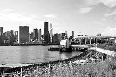 Manhattan and Queens (Markettius) Tags: nikon d7100 af24mm queensny lic nyc vintagelens manhattan