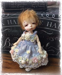 Who's getting pampered! (Jonquil O) Tags: fairyland arong spencer bjd tiny