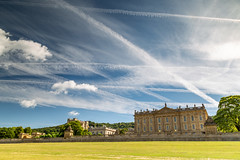 Mr Blue Skies and squishy clouds 💙 (Photo_stream_this) Tags: chatsworth house sky clouds sunshine trails grass