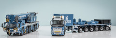 Sarens AC250-5 (PaulR1800) Tags: ac2505 ballasttrailer crane demag fh4 imcmodels sarens volvo