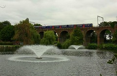 Three Coins two Fountains and a Dusty Bin (Chris Baines) Tags: ga 321 chelmsford viaduct park fountains