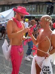 Stockholm Pride | Gay Cowboy (Toni Kaarttinen) Tags: sweden sverige ruotsi schweden suecia suède svezia stockholm tukholma estocolmo stoccolma gay pride stockholmpride gaypride parade prideparade gayprideparade festival pridefestival street party streetparty celebration gaypridearoundtheworld queer hlbt glbt pride2018 stockolmpride2018 lgbt hlgbt march marching rainbow flag flags man guy topless pecs hunk